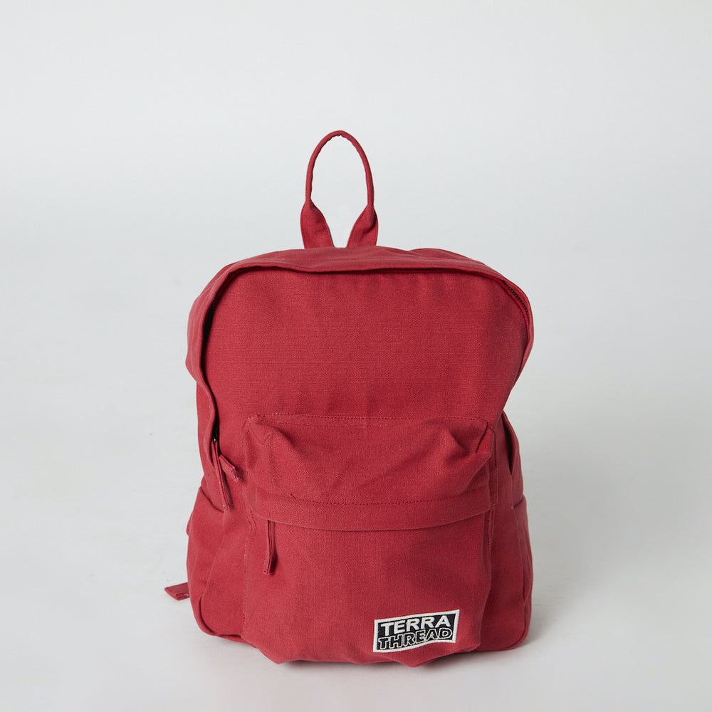 Fairtrade Certified Red Mini backpack