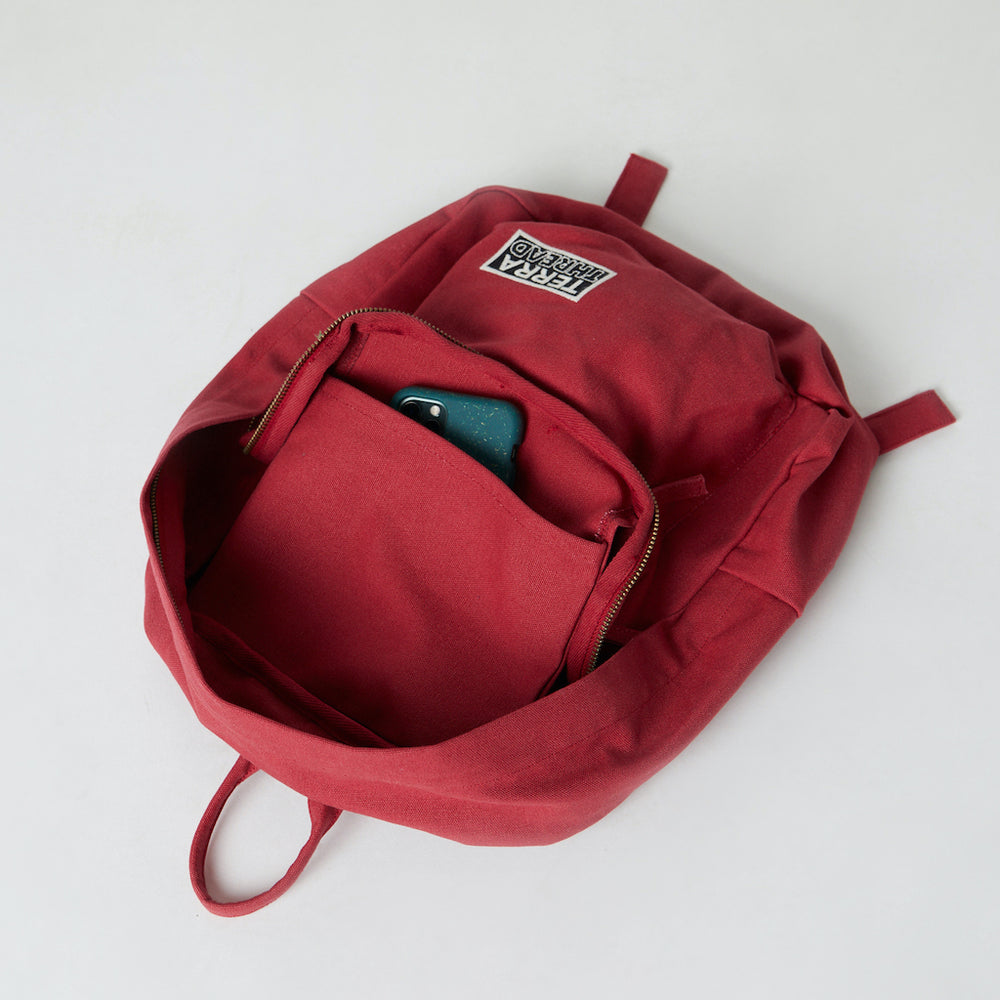 Mini backpack with inside pocket