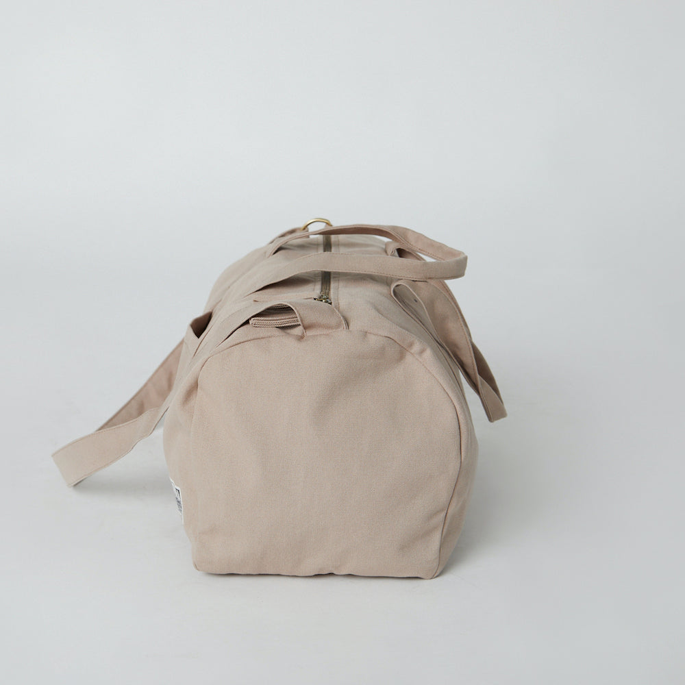 Organic Cotton Gym Bags Sand color