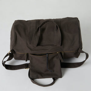 organic travel bags with pockets