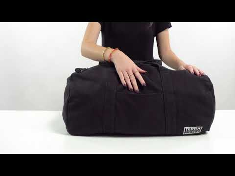 Load and play video in Gallery viewer, Bumi Eco Duffle Bag