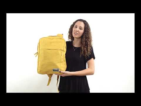 Load and play video in Gallery viewer, Sustainable backpacks for college and everyday use