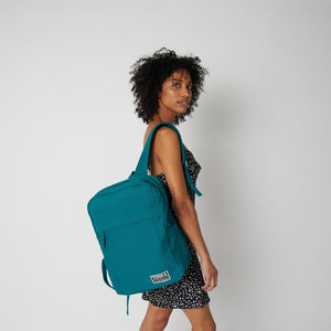 Load image into Gallery viewer, Terra Thread women's vegan backpack
