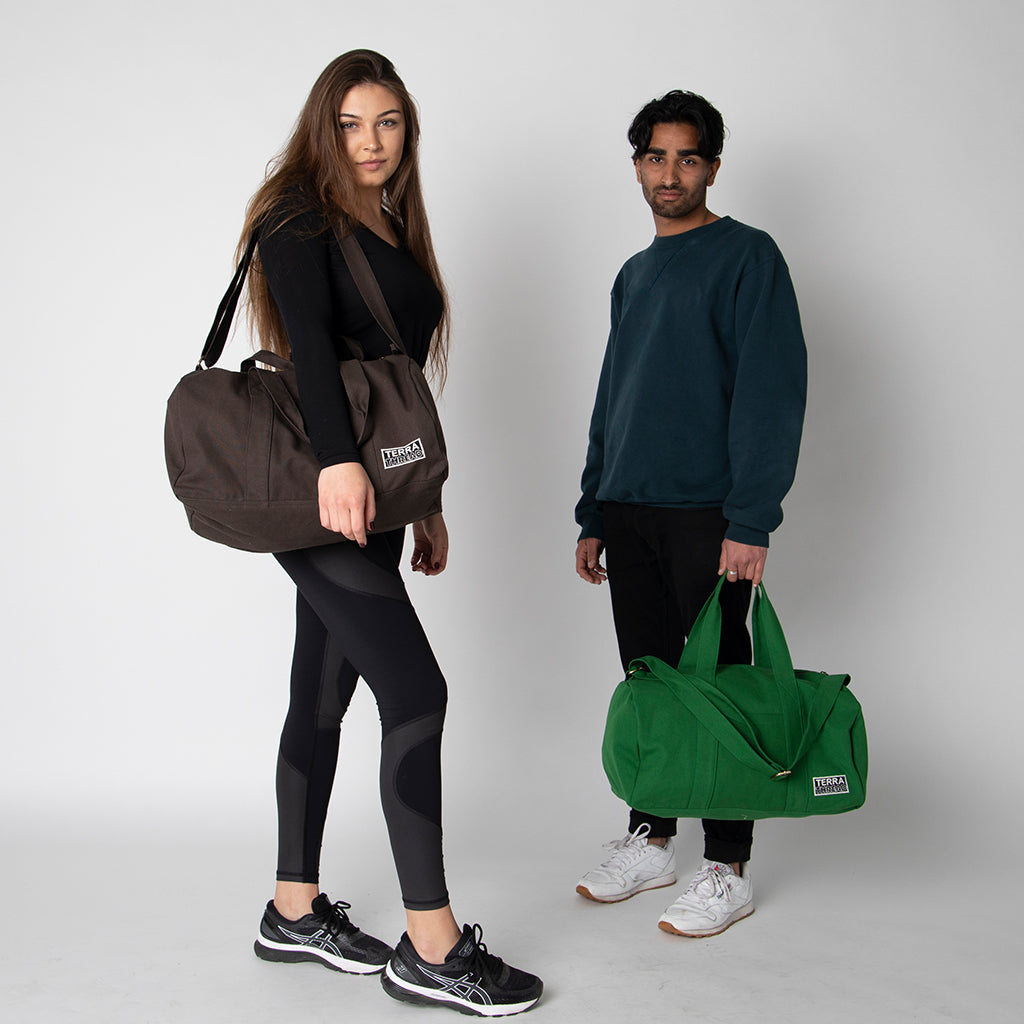 Organic Cotton Weekend and Gym Bag
