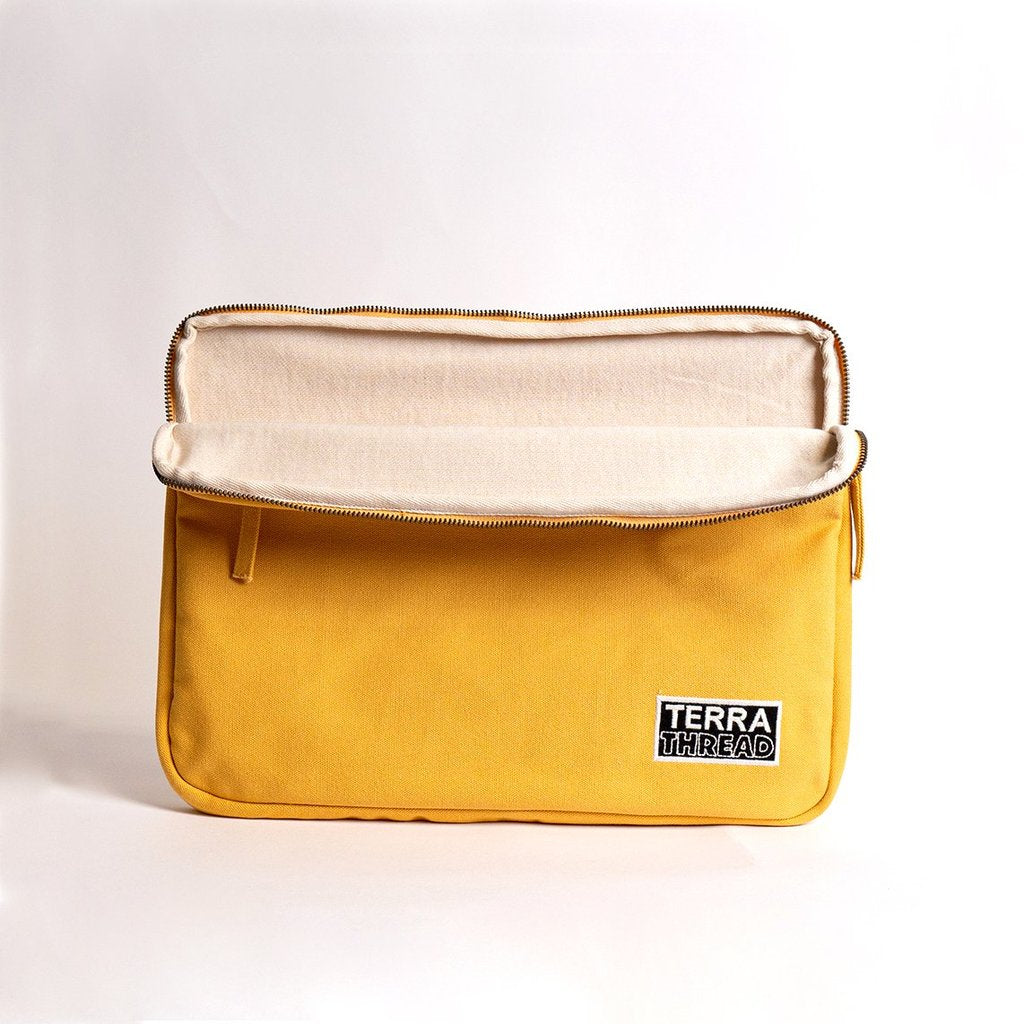 13 inches laptop sleeve in yellow