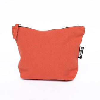 Cosmetic Makeup Pouches made with organic cotton canvas