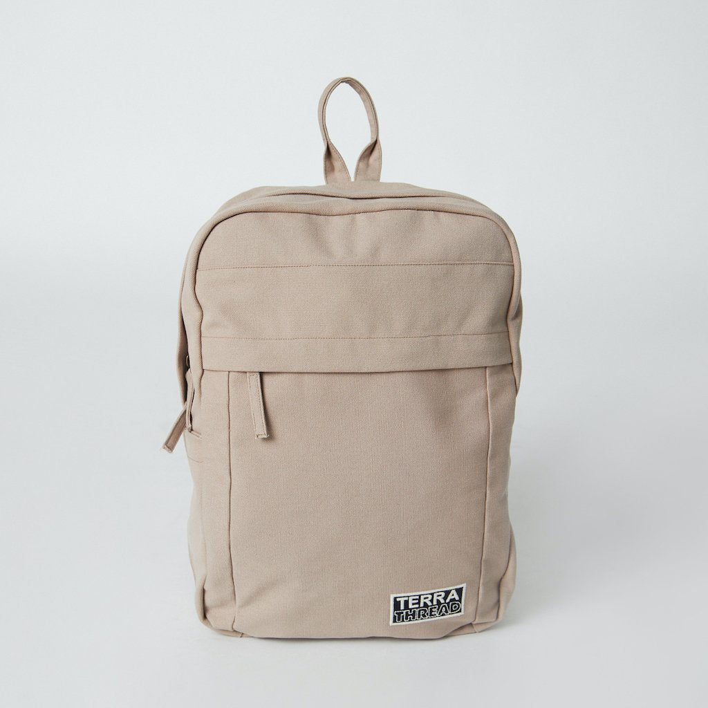 Fairtrade Organic Cotton Backpack in Natural Color