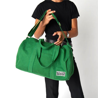 Gym bag made with sustainable material and eco-friendly