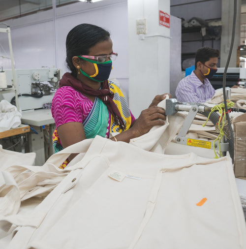 Terra Thread's factory workers have access to safe and democratic working environment.