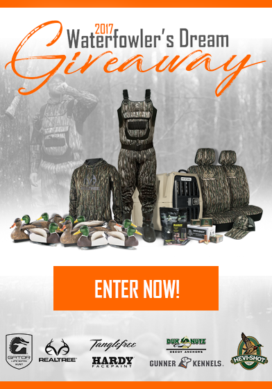 2017 Waterfowler's Dream Giveaway
