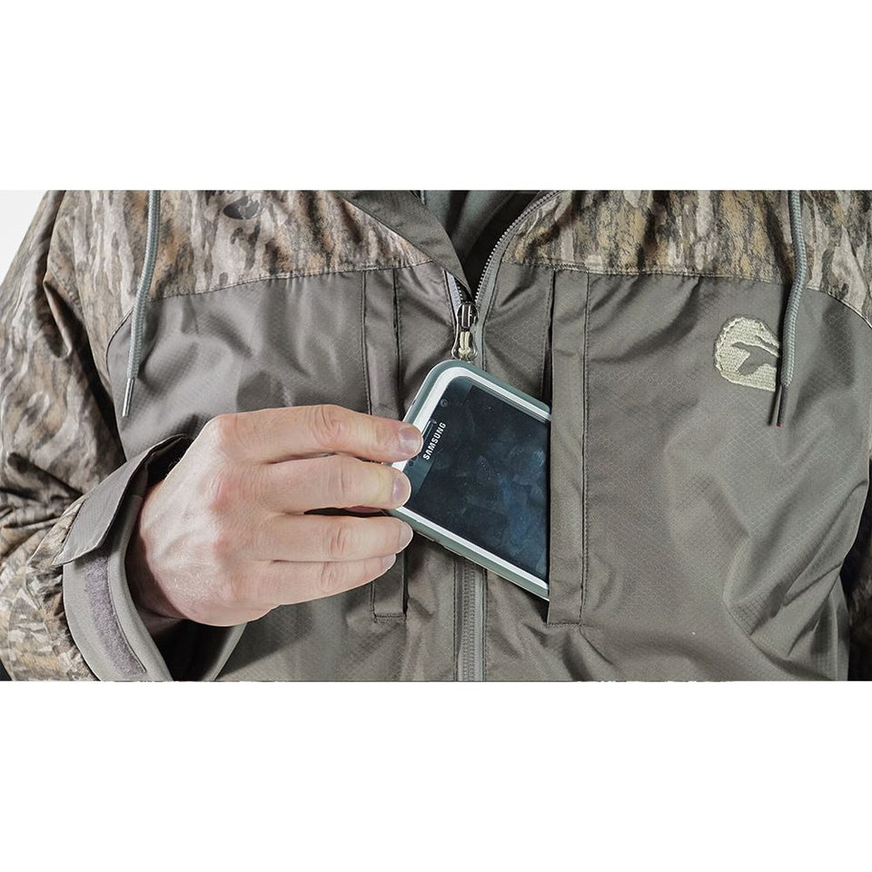 Shield 3-in-1 Jacket | Mens - Mossy Oak Bottomland Hunt Gator Waders