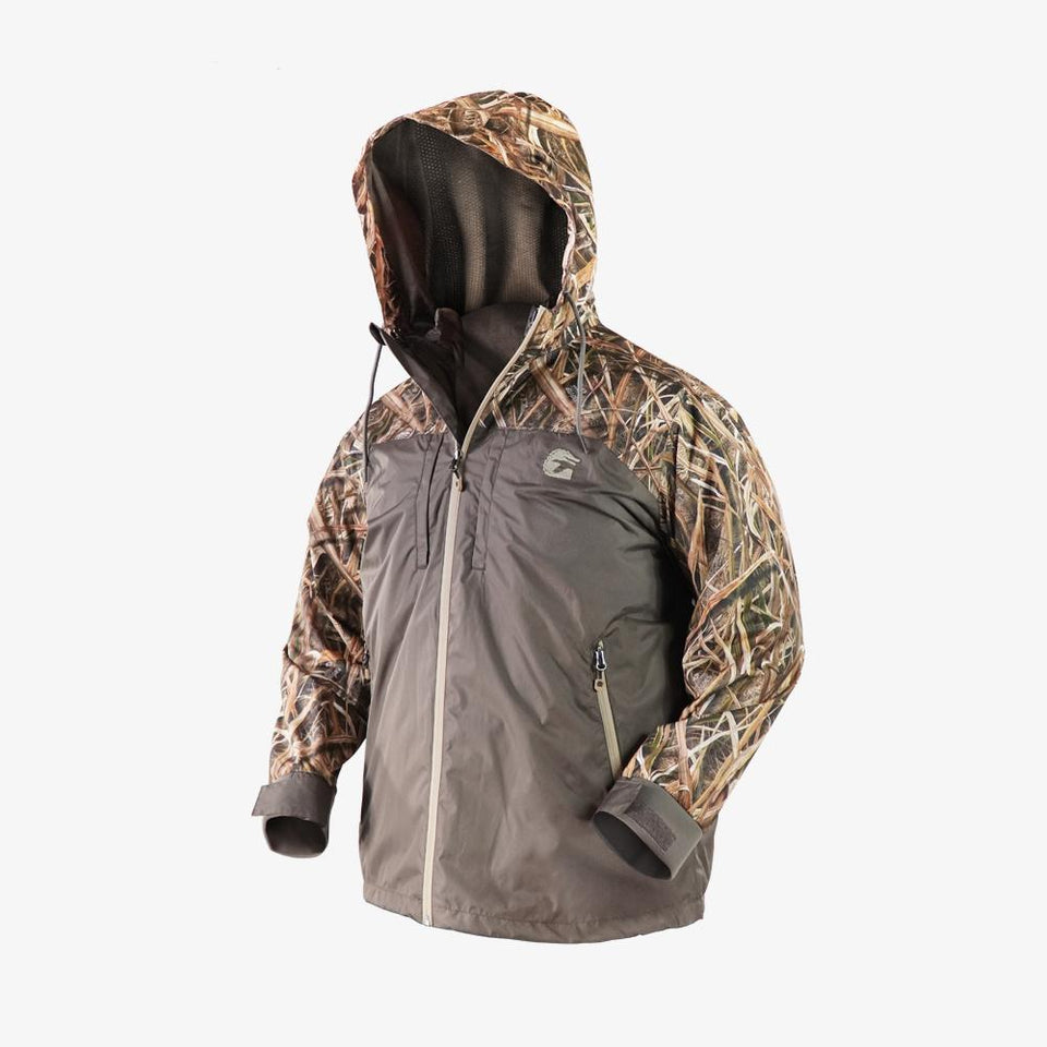 Shield 3-in-1 Jacket | Mens - Mossy Oak Shadow Grass Blades Hunt Gator Waders