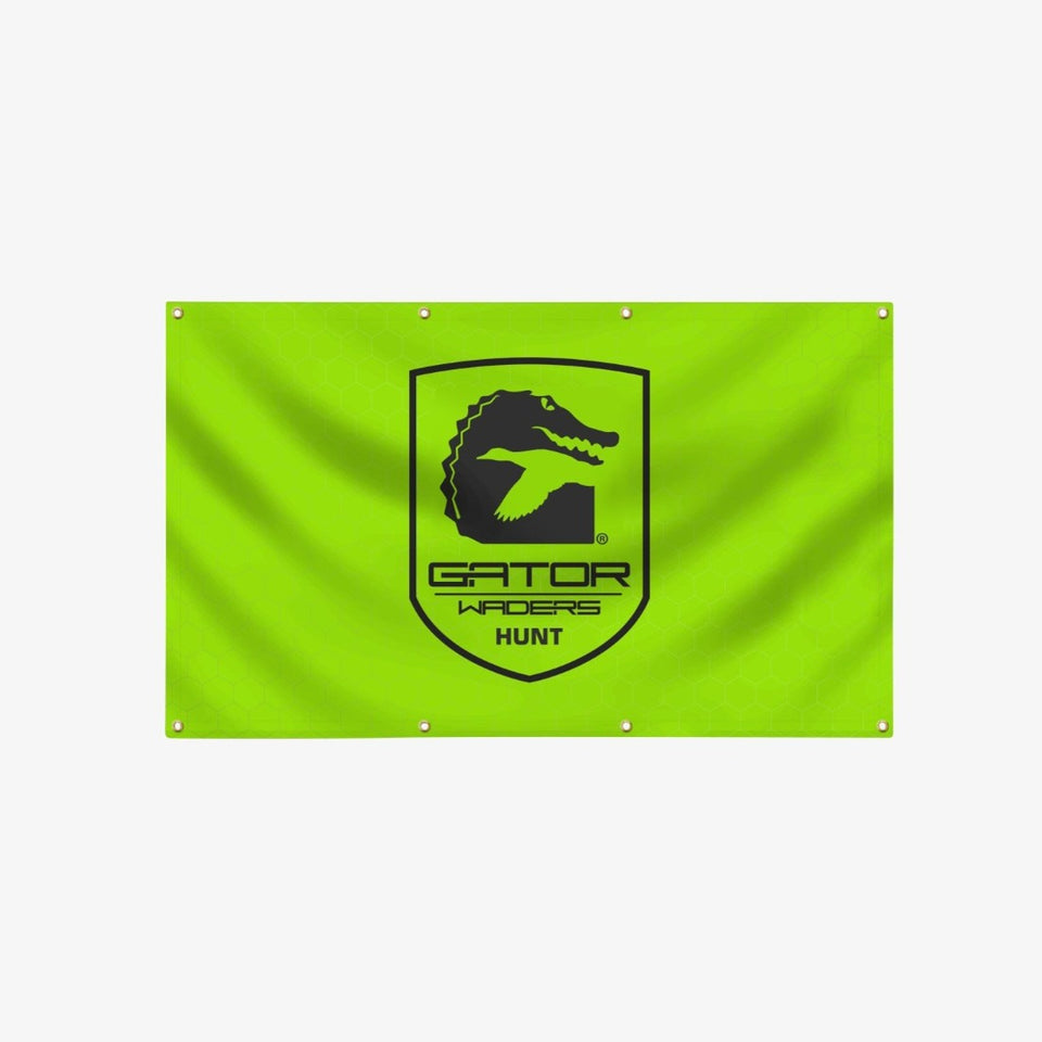 GW Indoor/Outdoor 5'x3' Banner | Lime Offroad Gator Waders