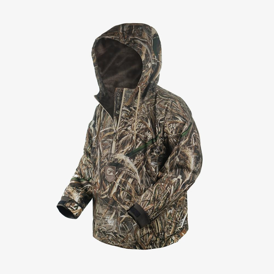 Waterproof 1/2 Zip Bog 2.0 Hoodie | Mens - Realtree Max-5 Hunt Gator Waders
