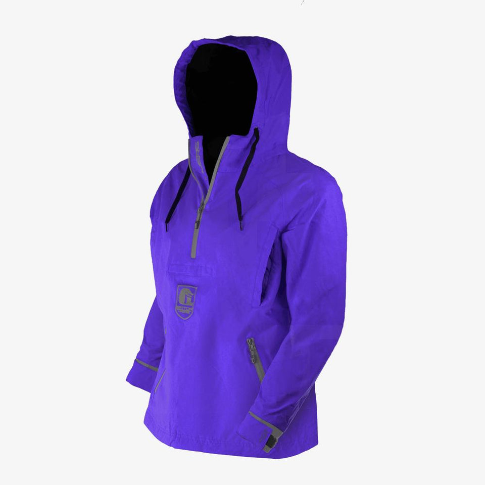 Waterproof 1/2 Zip Bog 2.0 Hoodie | Womens - Purple Offroad Gator Waders