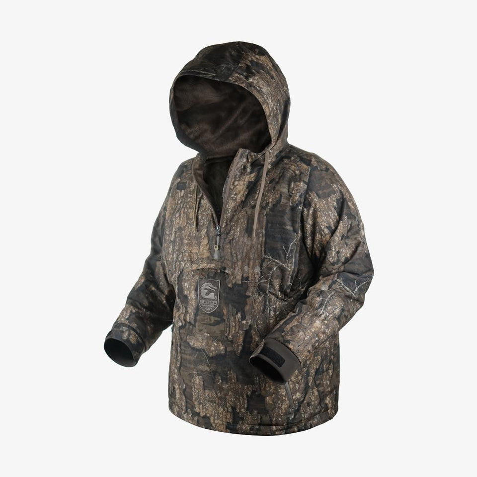 Waterproof 1/2 Zip Bog 2.0 Hoodie | Mens - Realtree Timber Hunt Gator Waders