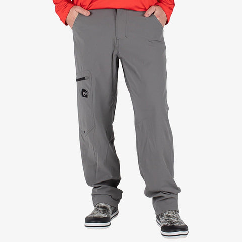 Breakline Performance Fishing Pants - Grey