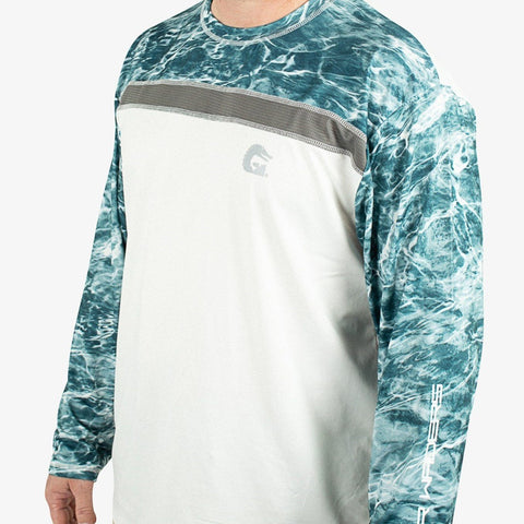Breakline Performance Fishing Shirt - Mossy Oak Spindrift