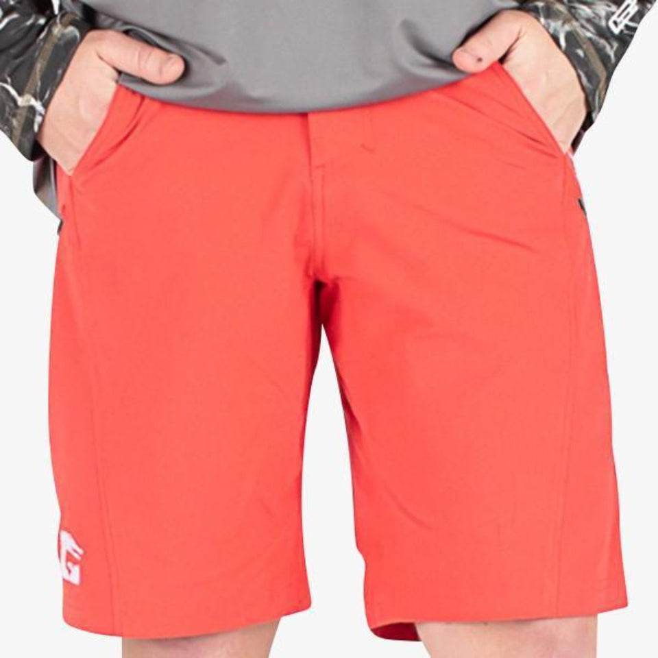 Breakline Performance Fishing Shorts | Mens - Red Fish Gator Waders