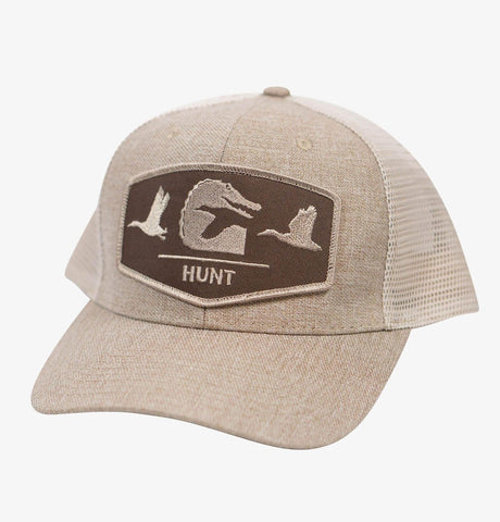 Flock Patch Hat