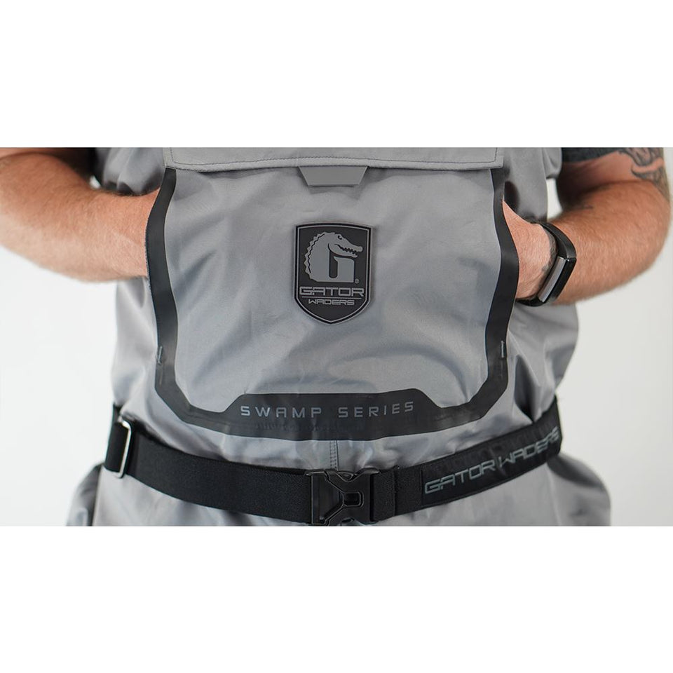 Swamp Insulated Waders | Mens - Grey Offroad Gator Waders