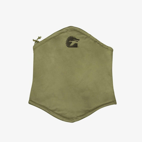 Huntsman 2 Coral Fleece Lined Neck Gaiter - Timber Green
