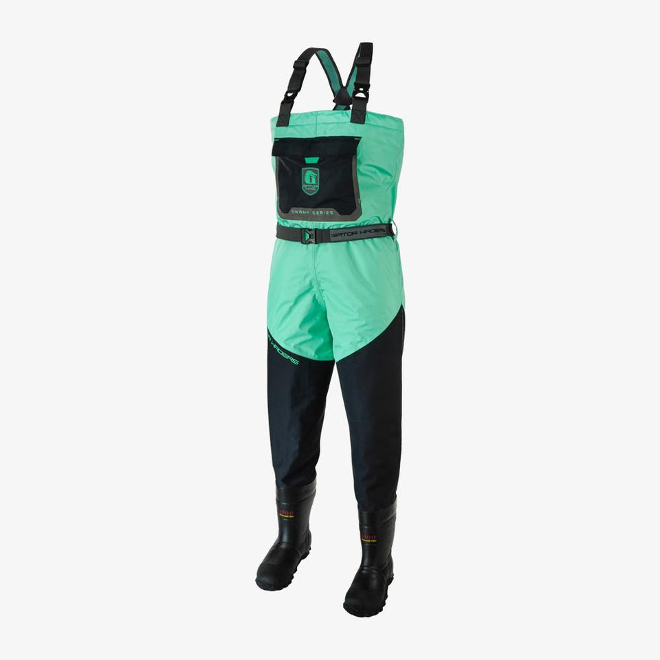 Swamp Insulated Waders | Womens - Aqua Offroad Gator Waders