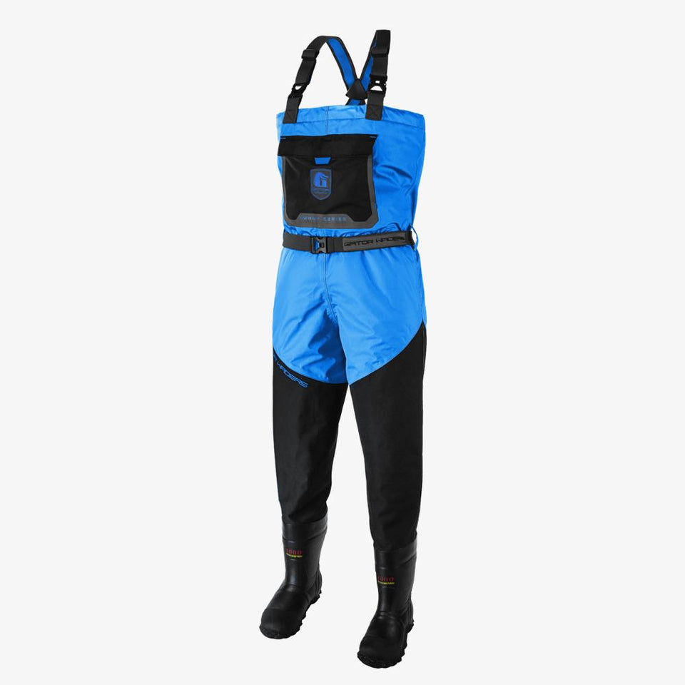 Swamp Insulated Waders | Mens - Blue Offroad Gator Waders