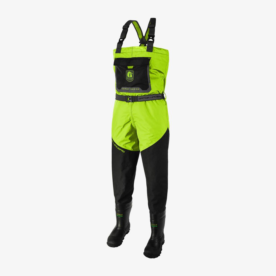 Swamp Insulated Waders | Mens - Lime Offroad Gator Waders