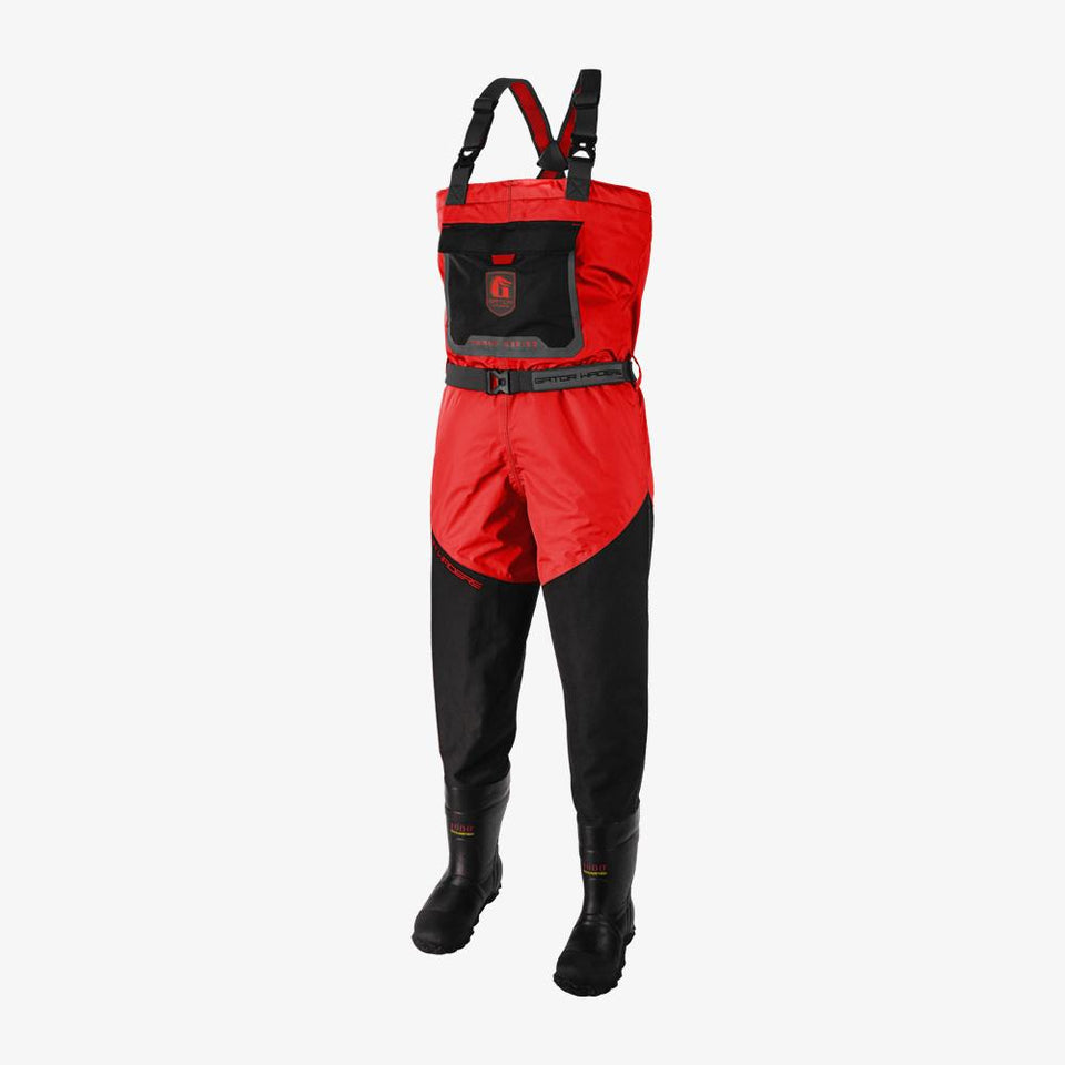 Swamp Insulated Waders | Mens - Red Offroad Gator Waders