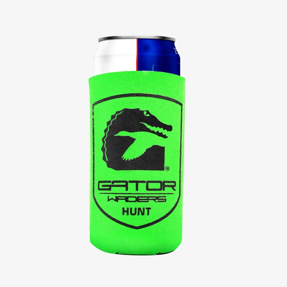 Slim Hunt Koozie | Lime Hunt Gator Waders