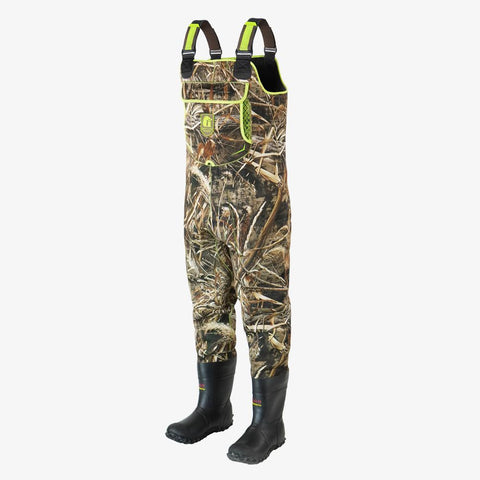 Retro Neoprene Waders | Mens - Realtree Max-5