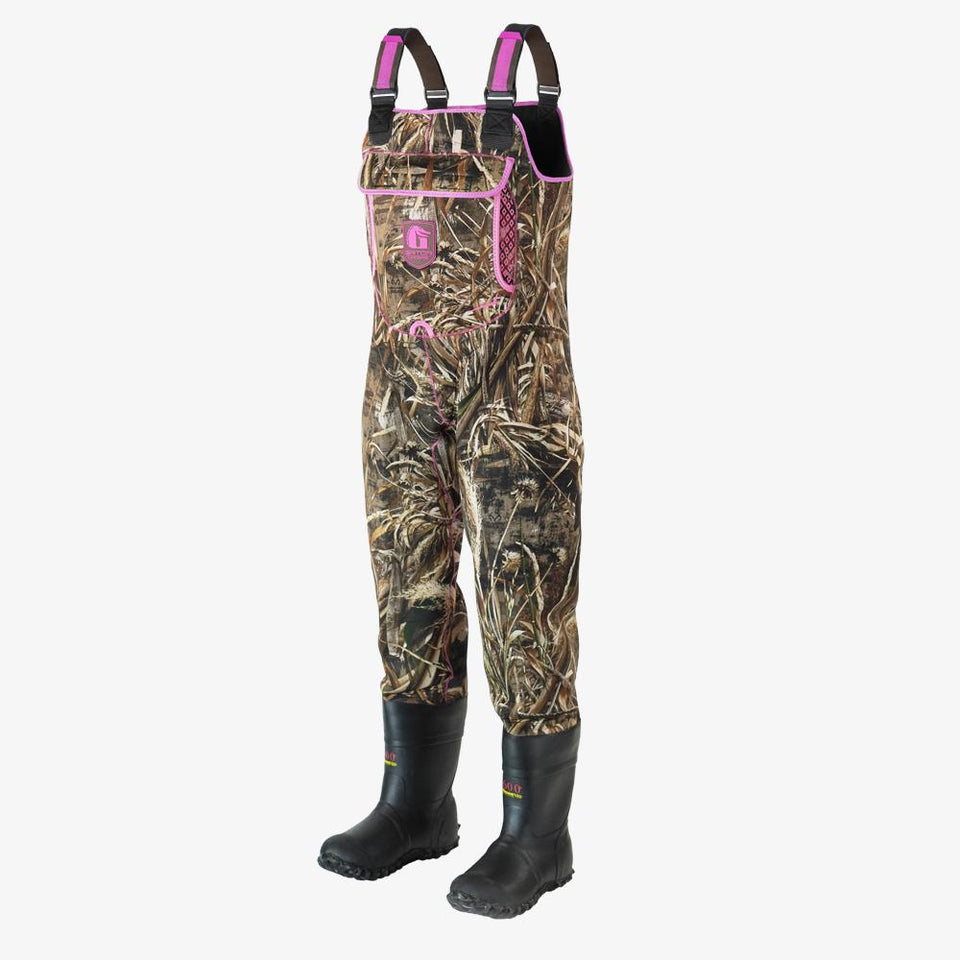 Retro Neoprene Waders | Womens - Realtree Max-5 Offroad Gator Waders