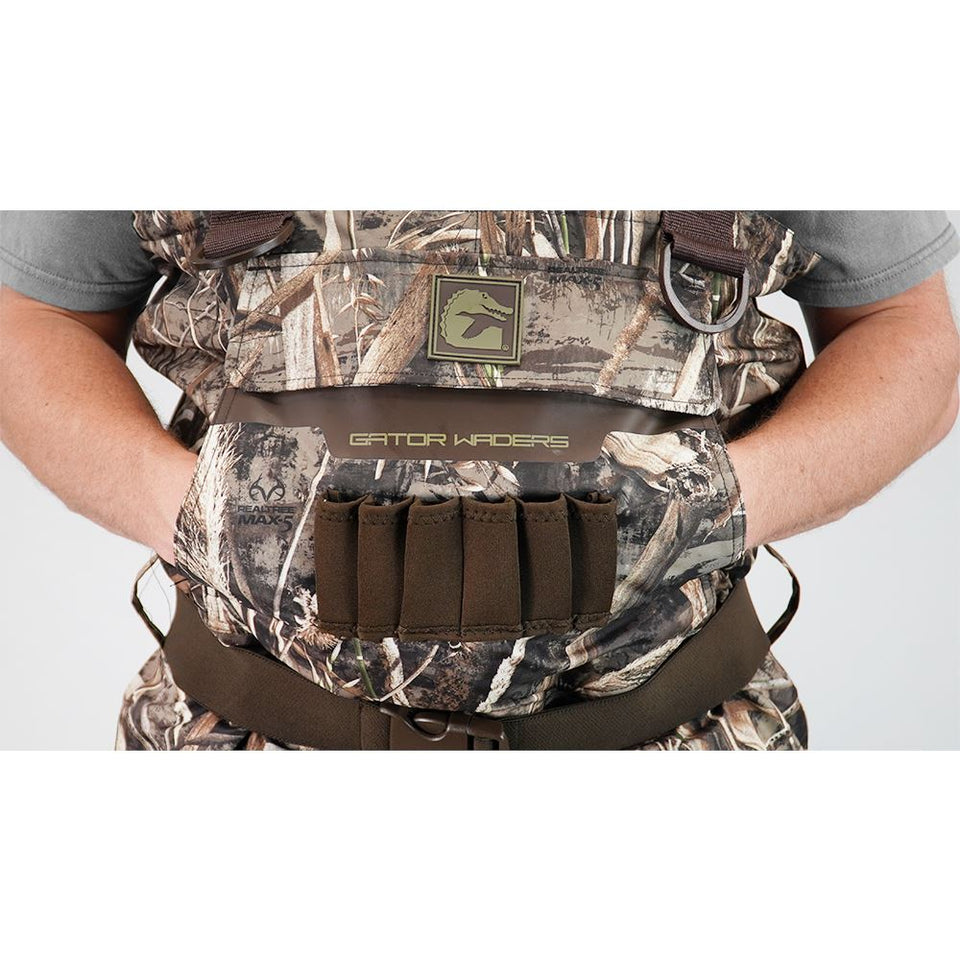 Shield Insulated Waders | Womens - Realtree Max-5 Hunt Gator Waders