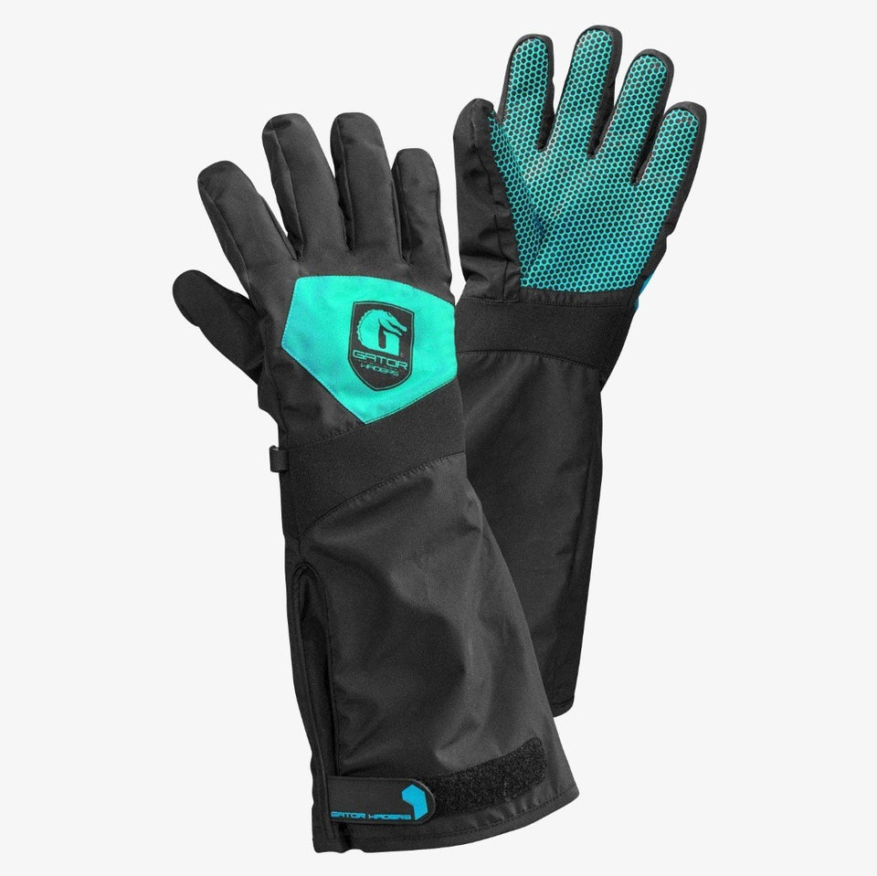 Scout Gloves | Womens - Aqua Offroad Gator Waders