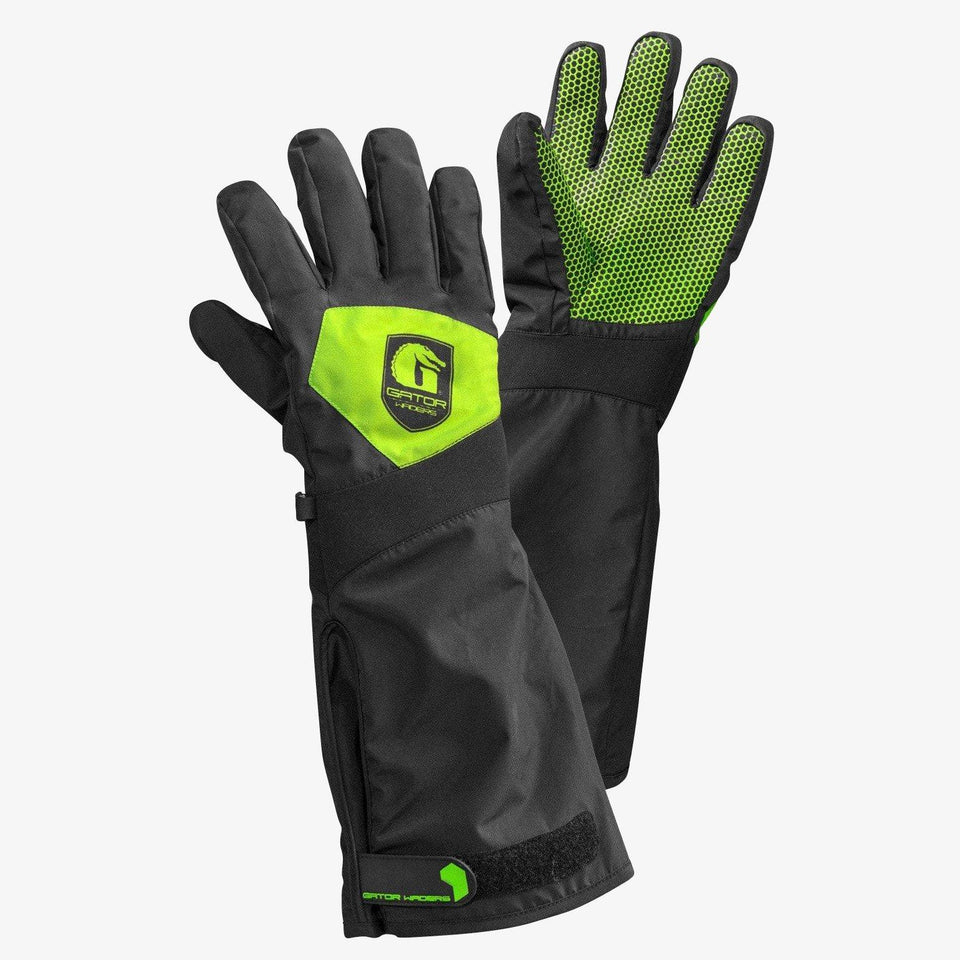 Scout Gloves | Mens - Lime Offroad Gator Waders