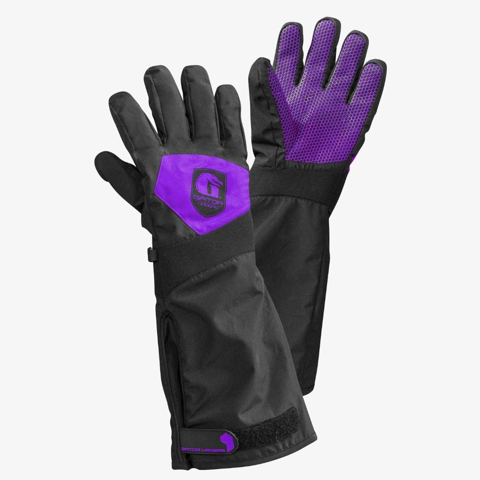 Scout Gloves | Womens - Purple Offroad Gator Waders