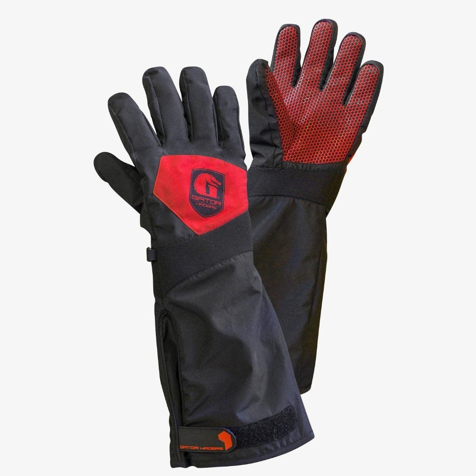 Scout Gloves | Mens - Red Offroad Gator Waders