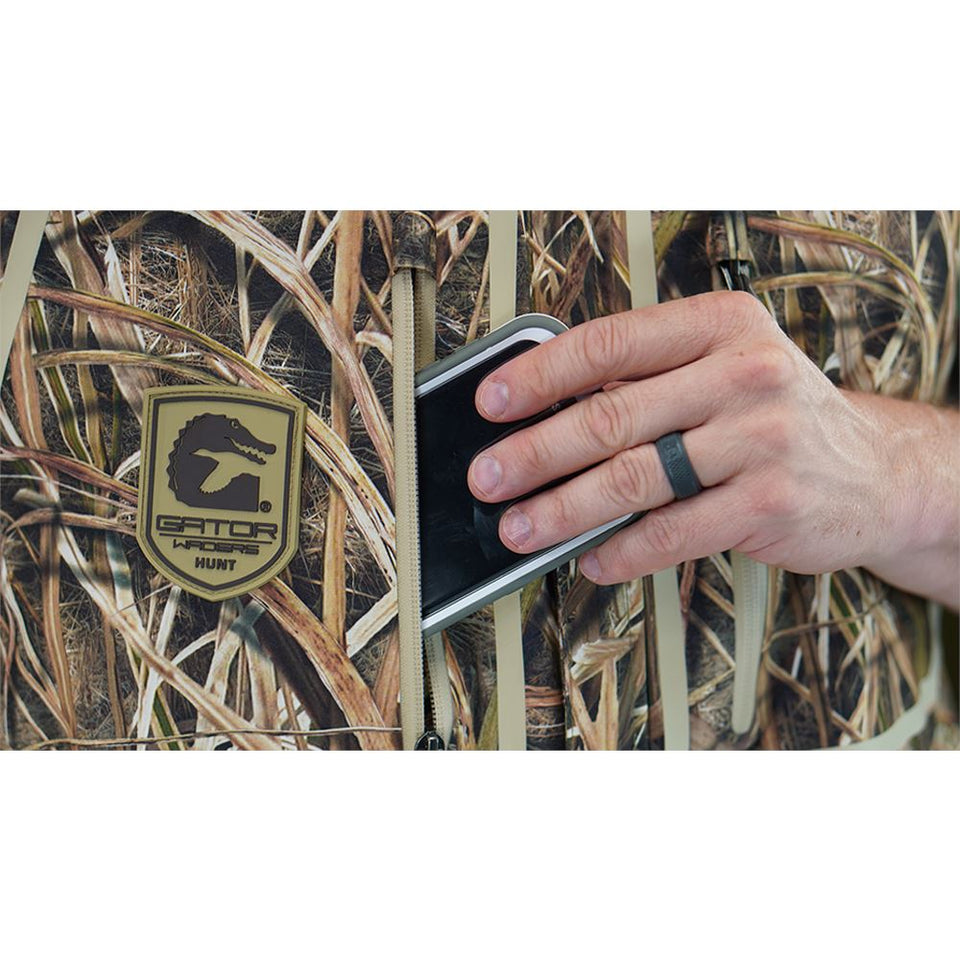 Shield Insulated Bib | Mens - Mossy Oak Shadow Grass Blades Hunt Gator Waders
