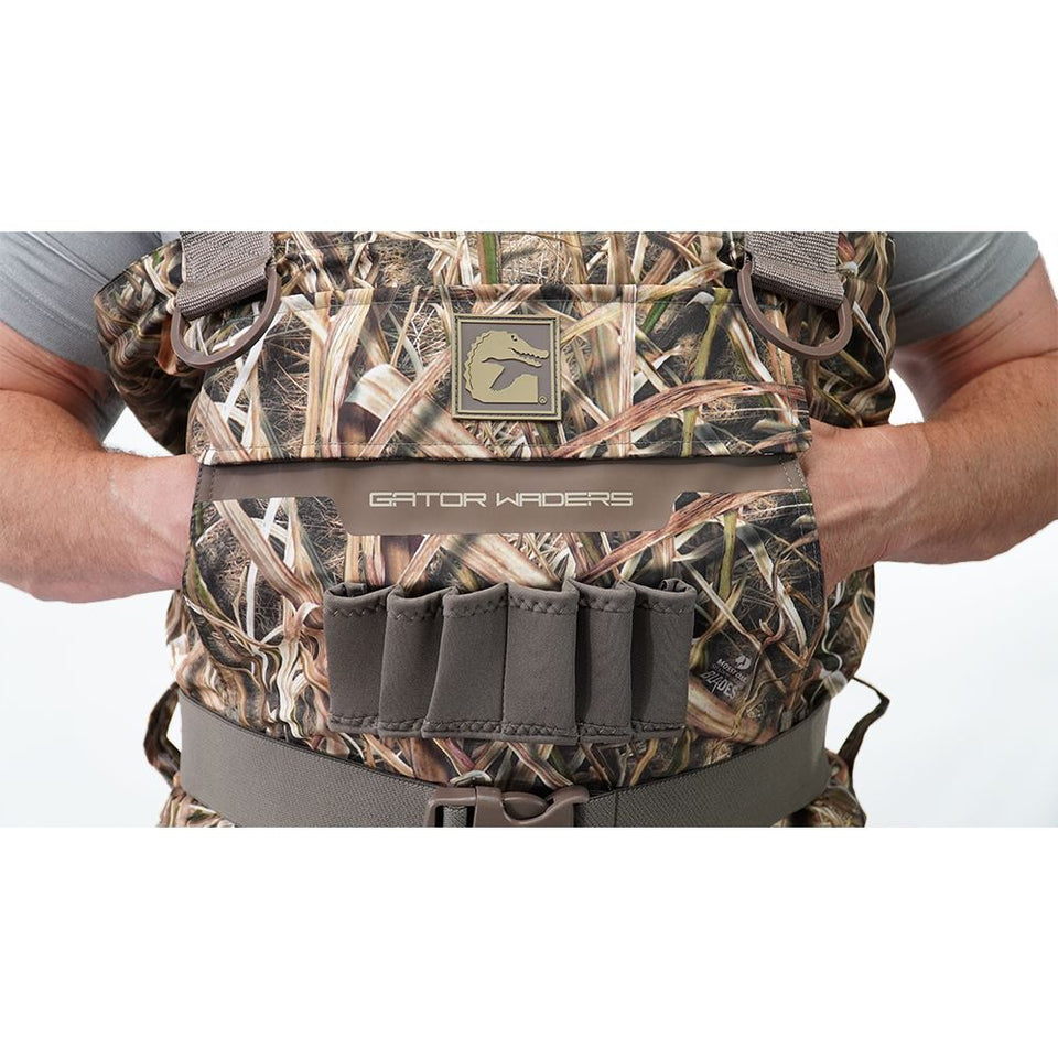 Shield Insulated Waders | Womens - Mossy Oak Shadow Grass Blades Hunt Gator Waders