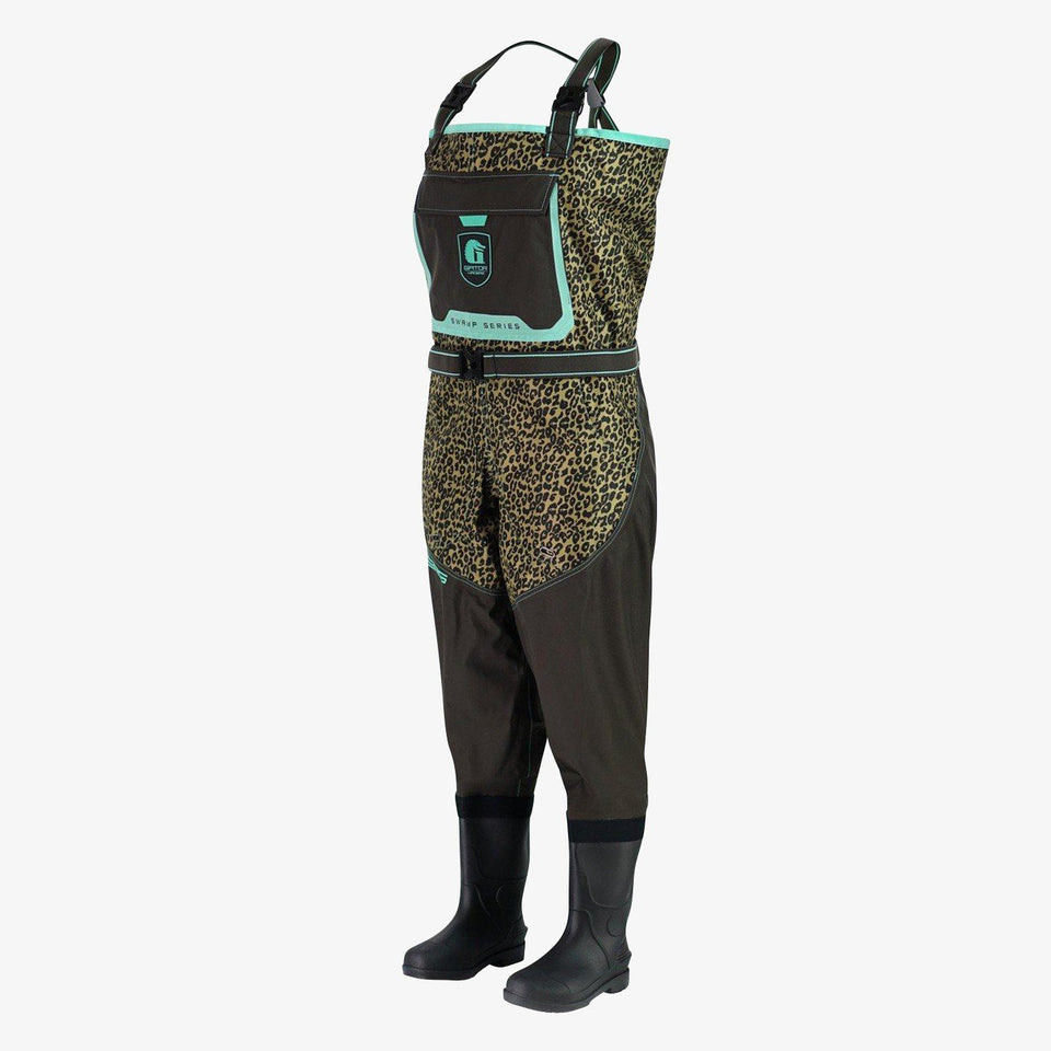 Swamp 2.0 Uninsulated Waders | Womens - Leopard Offroad Gator Waders