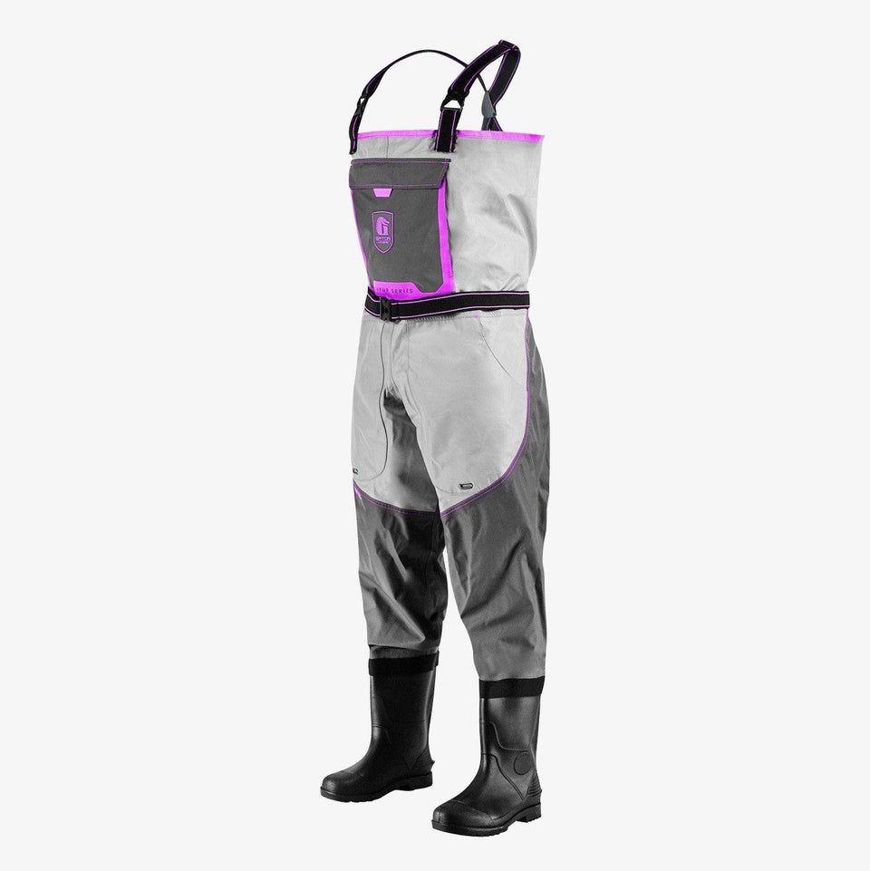 Swamp 2.0 Uninsulated Waders | Womens - Pink Offroad Gator Waders