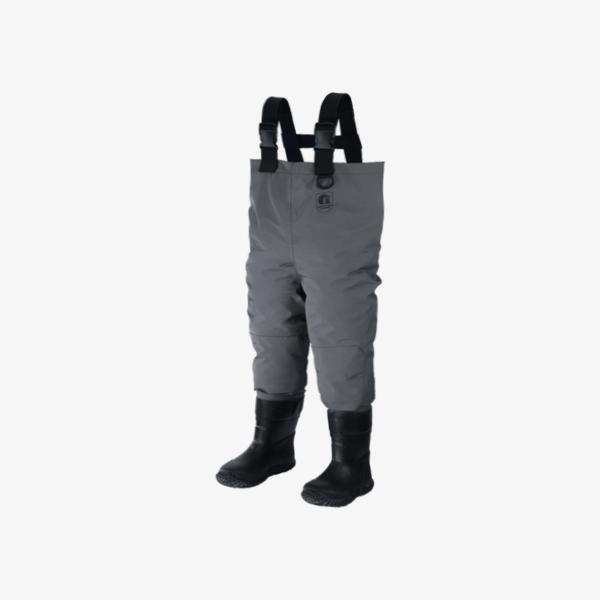 Toddler Breathable Waders | Grey Offroad Gator Waders