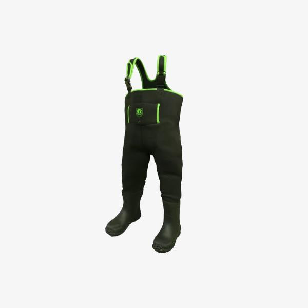 Toddler Neoprene Waders | Lime Offroad Gator Waders