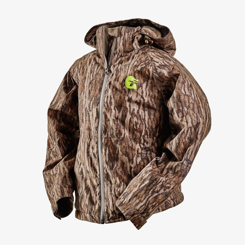Youth Insulated Jacket | Mossy Oak Bottomland Gator Waders