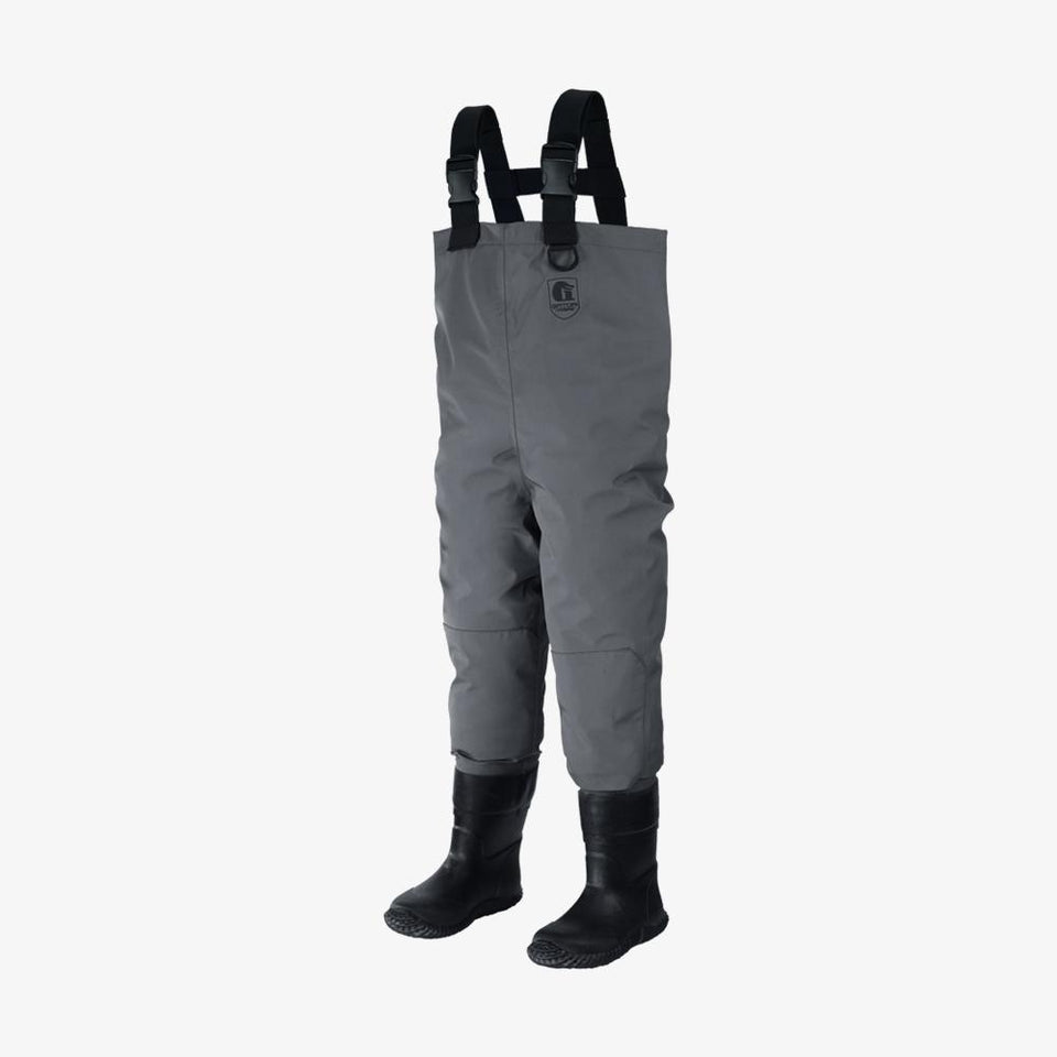 Youth Breathable Waders | Grey Offroad Gator Waders