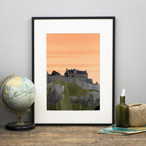 'Edinburgh Castle' Print