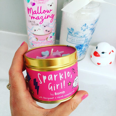Sparkle Girl Scented Tin Candle