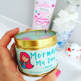 Mermaid My Day Scented Tin Candle