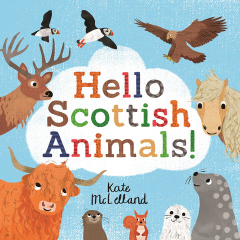 HELLO SCOTTISH ANIMALS PAPERBACK BOOK